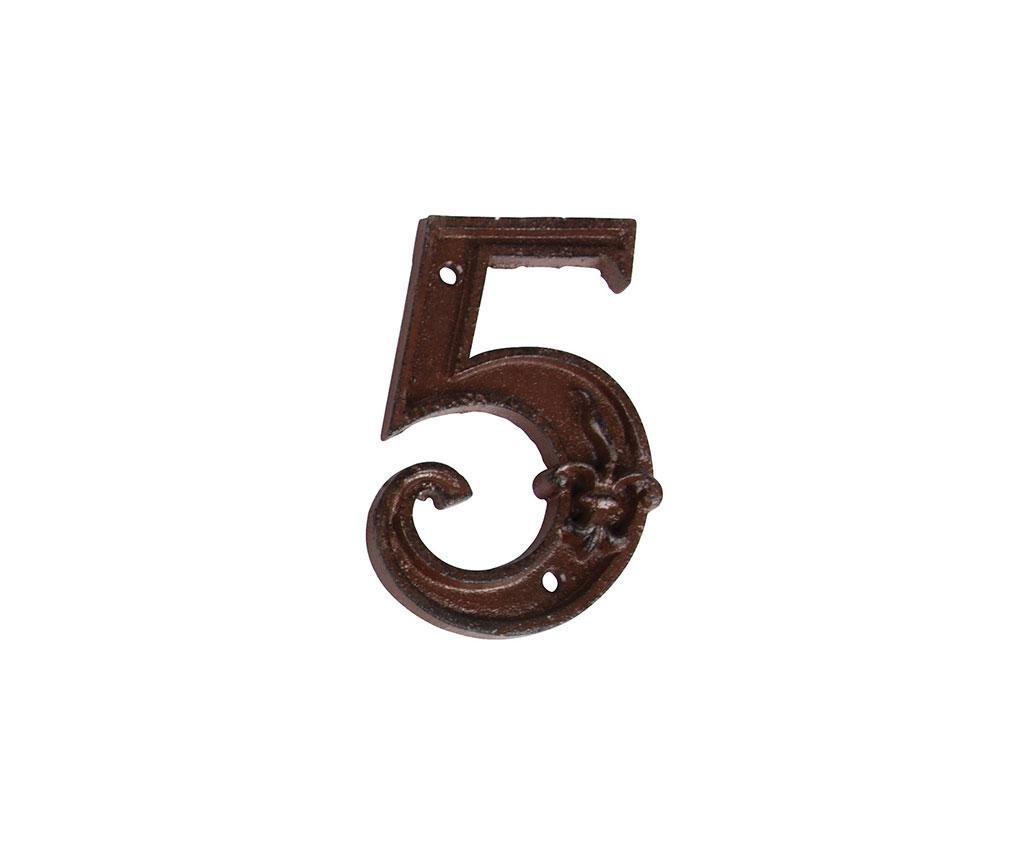 Numar pentru casa Five