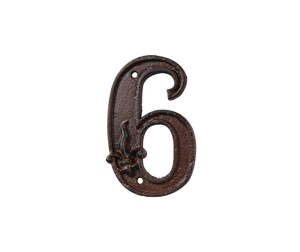 Номер за къща Six