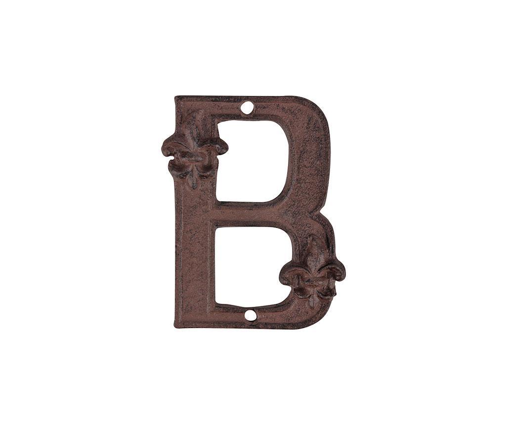 Буква за къща Brown B