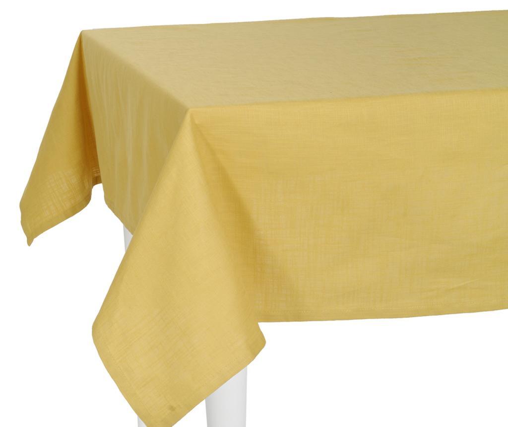 Fata de masa Thoughts Yellow 140x170 cm