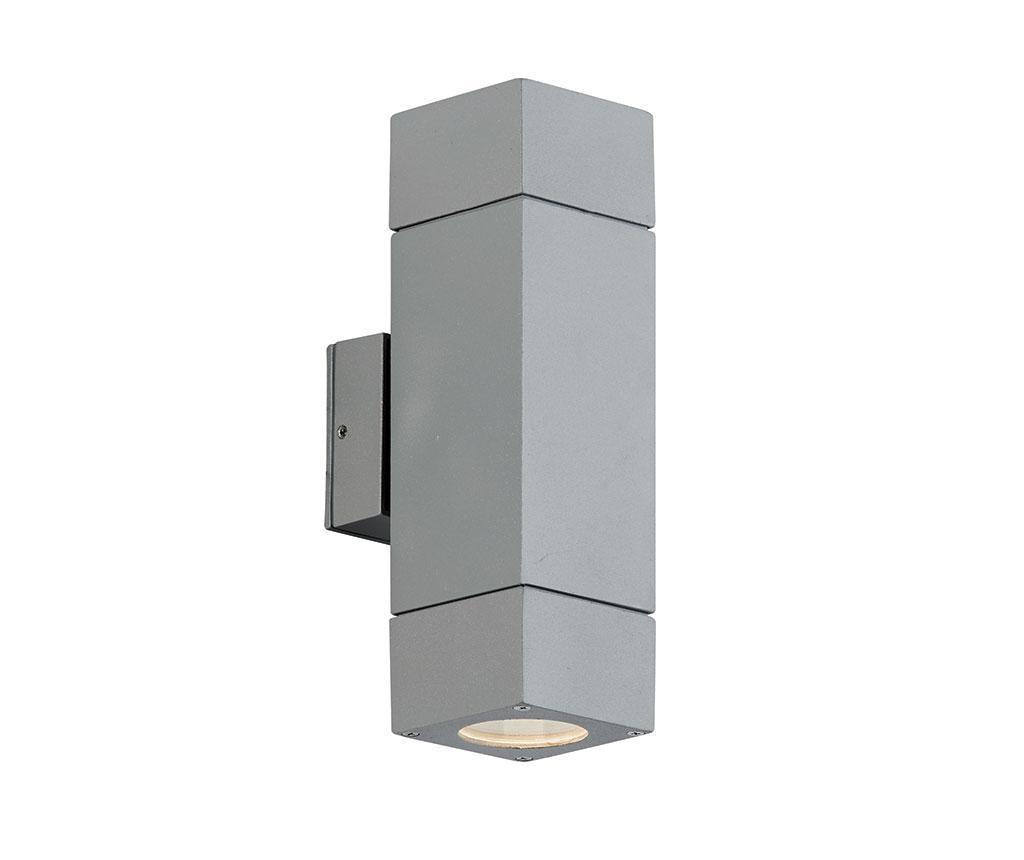 Zunanja stenska svetilka Paros Grey Tall