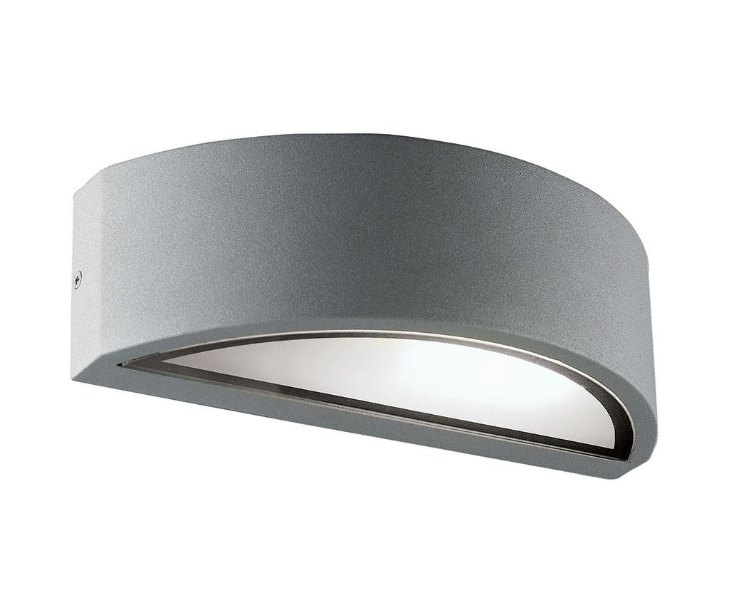 Vanjska zidna svjetiljka Rhodes Half Silver