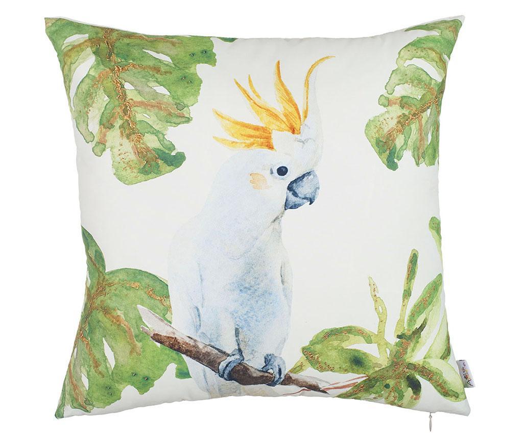 Prevleka za blazino White Parrot 43x43 cm