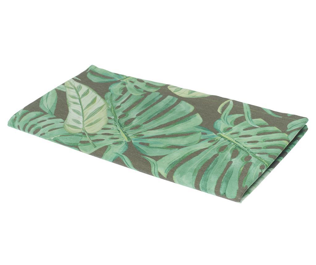 Nadstolnjak Jungle Grey 40x140 cm
