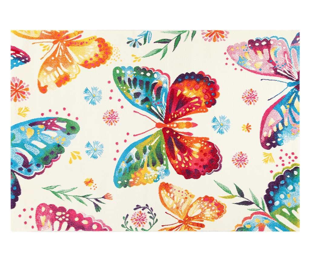 Preproga Farfalle Cream 100x150 cm