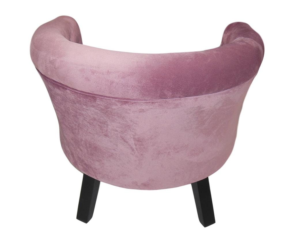 Fotelj Madalina Dark Pink