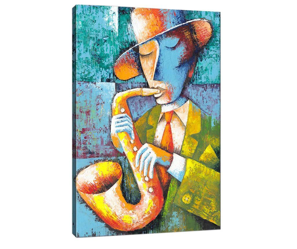 Tablou Saxophone Player 50x70  cm