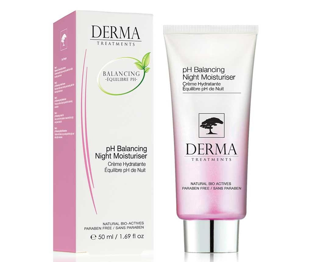 Nočna krema za uravnavanje pH The Derma 50 ml