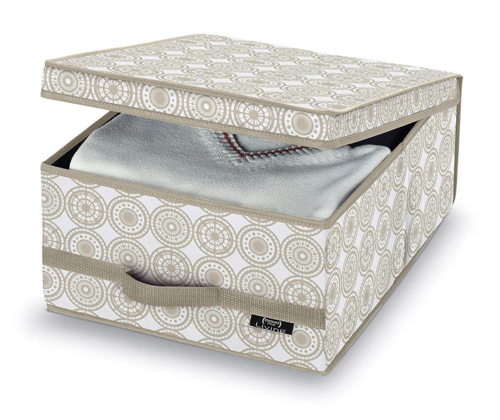 Pudełko z pokrywką do przechowywania Living Ella Wide S