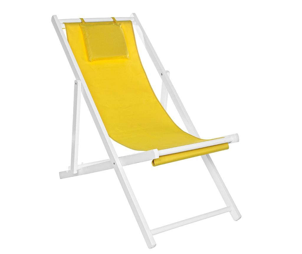 Scaun pliabil pentru exterior Sun Yellow Tall