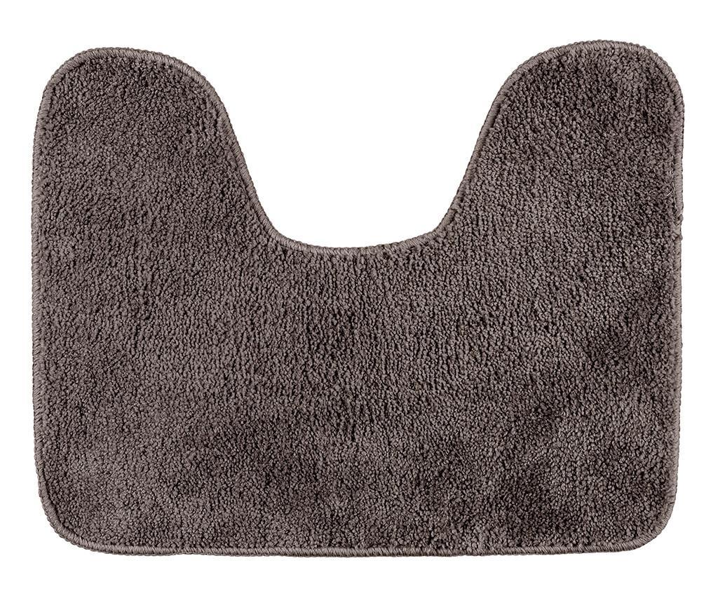 Covoras pentru toaleta Fluffy Taupe 40x50 cm