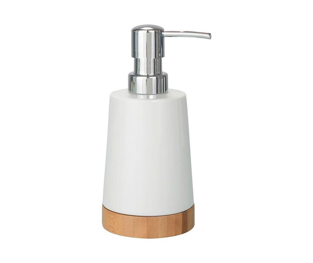 Dispenser sapun lichid Emet Bamboo 330 ml
