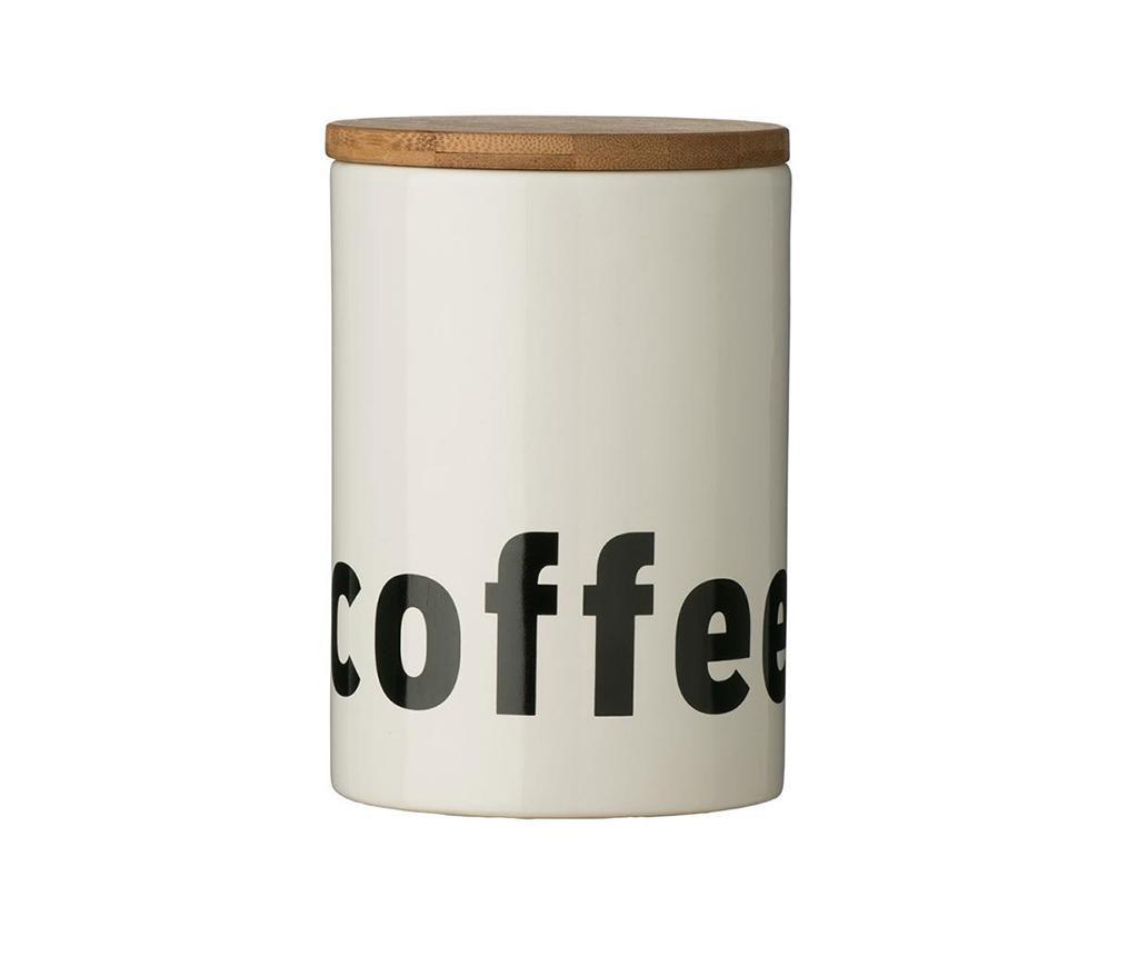 Letters Tároló fedővel kávénak