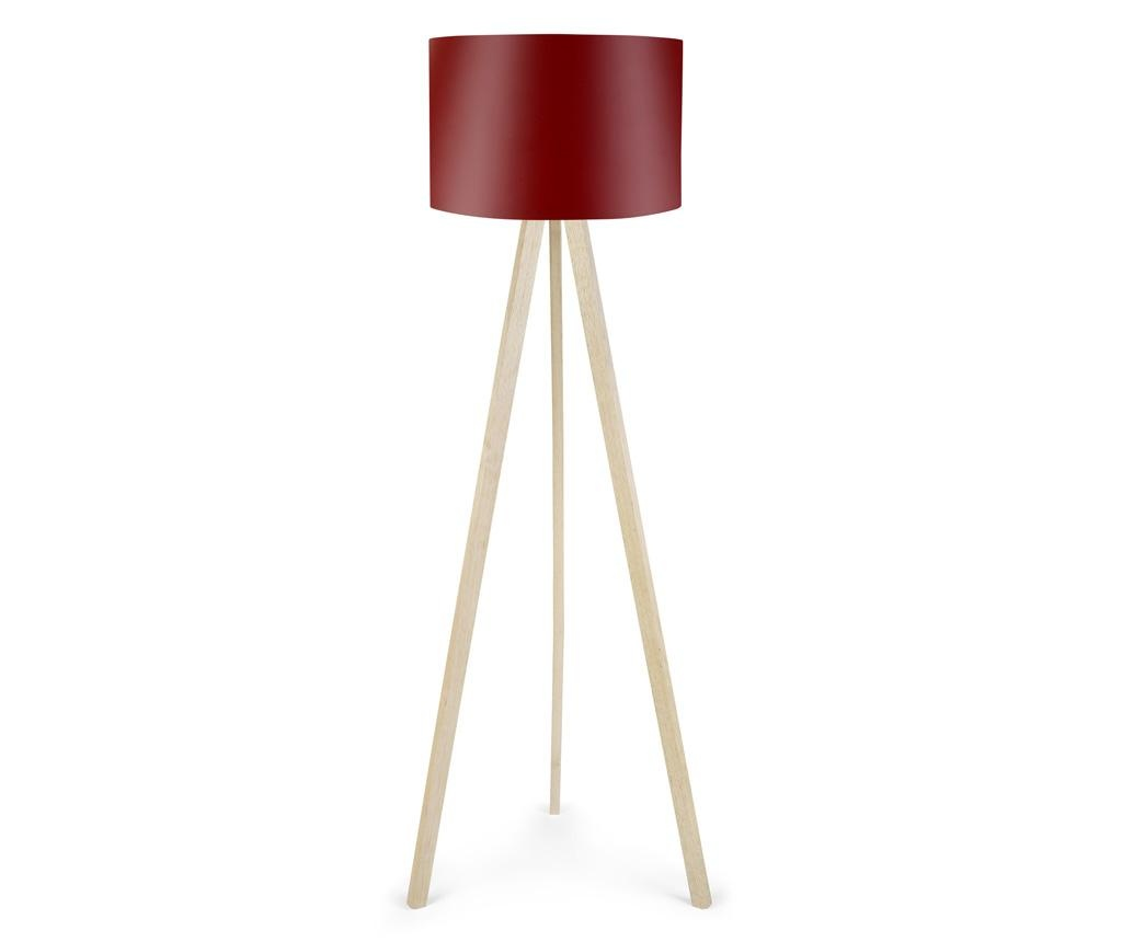 Lampadar Elisa White Brown Red
