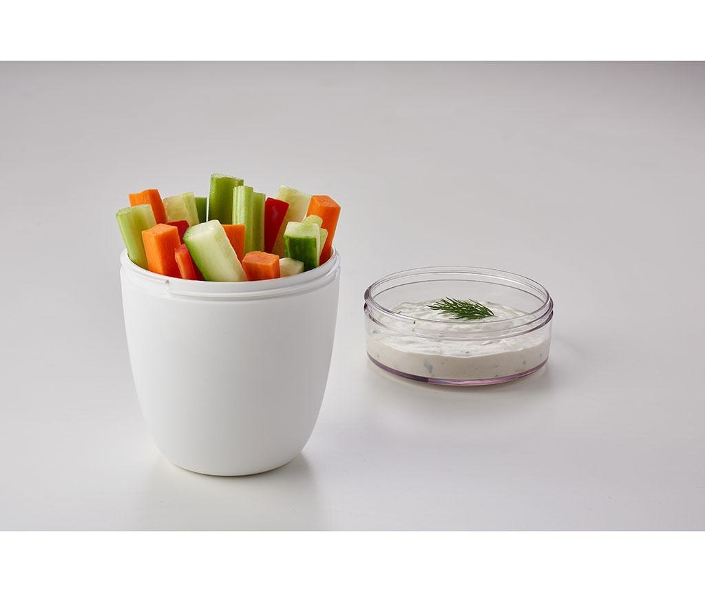 Cutie pentru pranz Ellipse White 700 ml