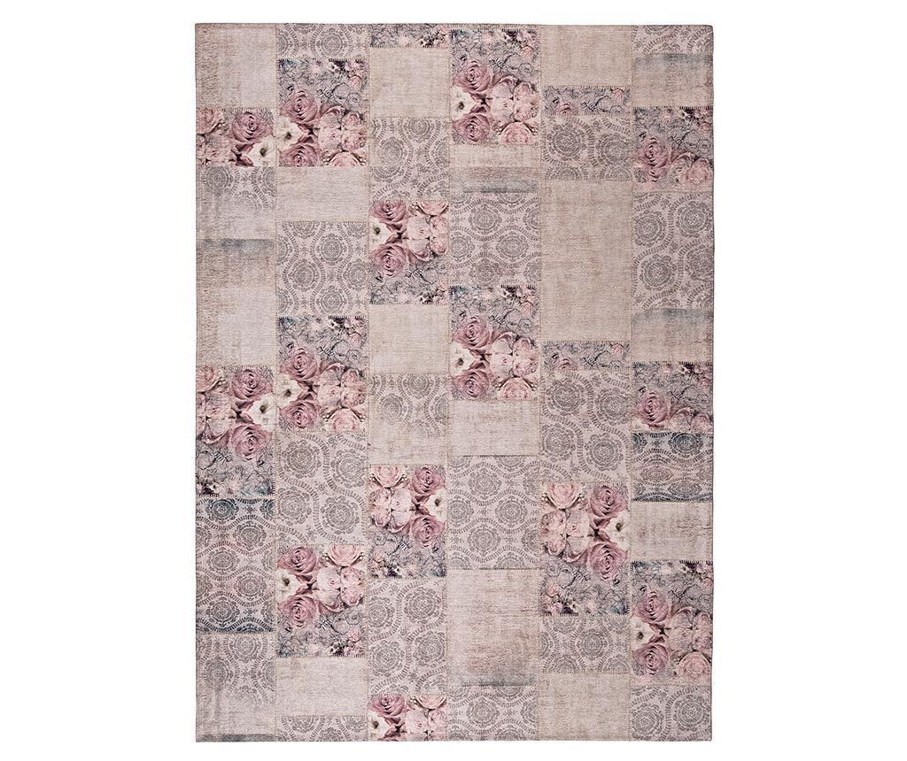 Covor Alice Roses Grey 140x200 cm