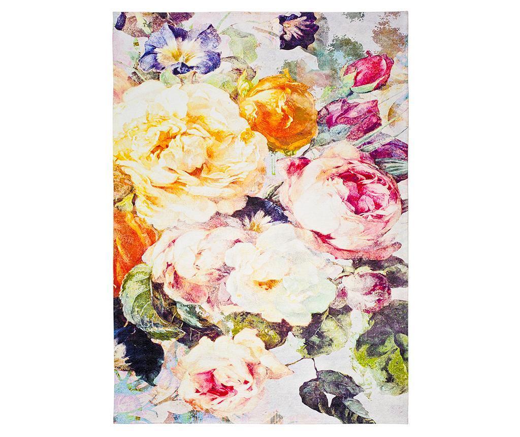 Preproga Chenille Floral 160x230 cm