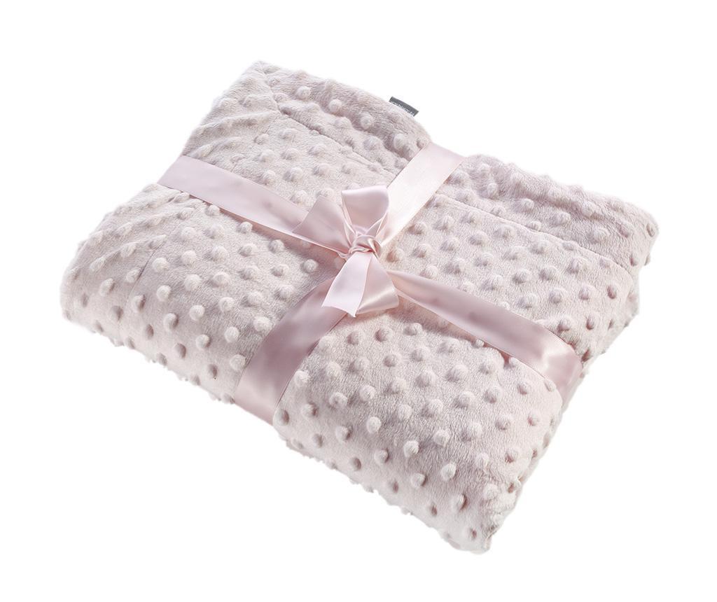 Pokrivač Bubbles Pink 110x140 cm