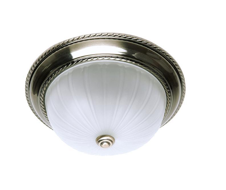 El Grando Antique Brass White Mennyezeti lámpa