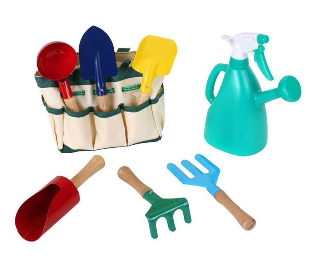 Set de gradinarit pentru copii 8 piese Colorful Mini