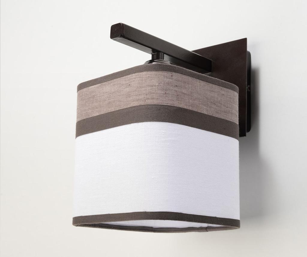 Nástěnné svítidlo Costa Brown White
