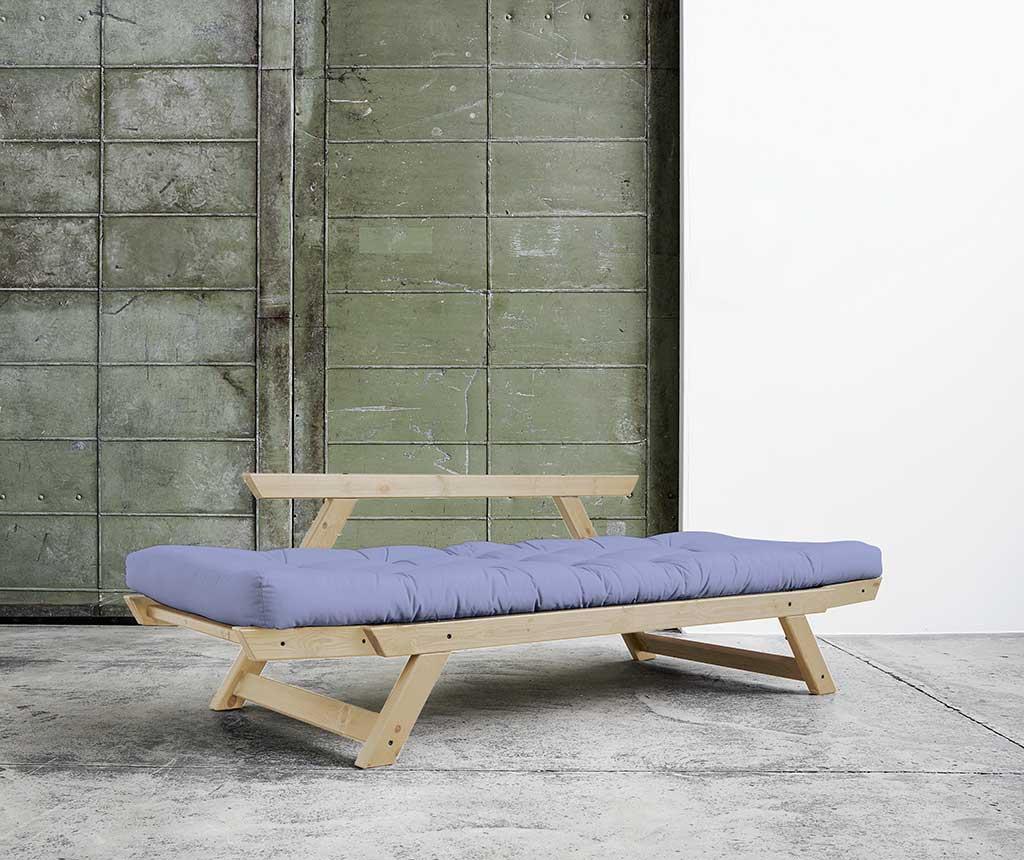 Sofa extensibila Bebop Natural and Blue Breeze