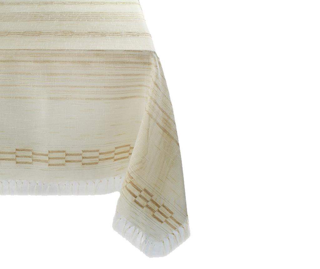 Stolnjak Safir Brown 160x160 cm