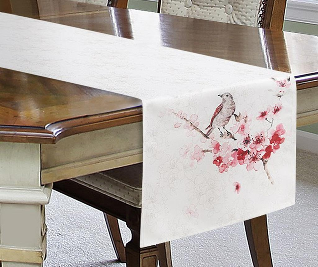 Traversa de masa Aiden Cream Pink 40x140 cm