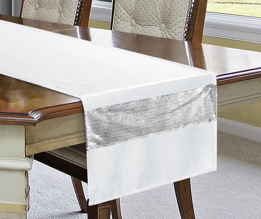 Bieżnik stołowy Ariadna White 40x140 cm