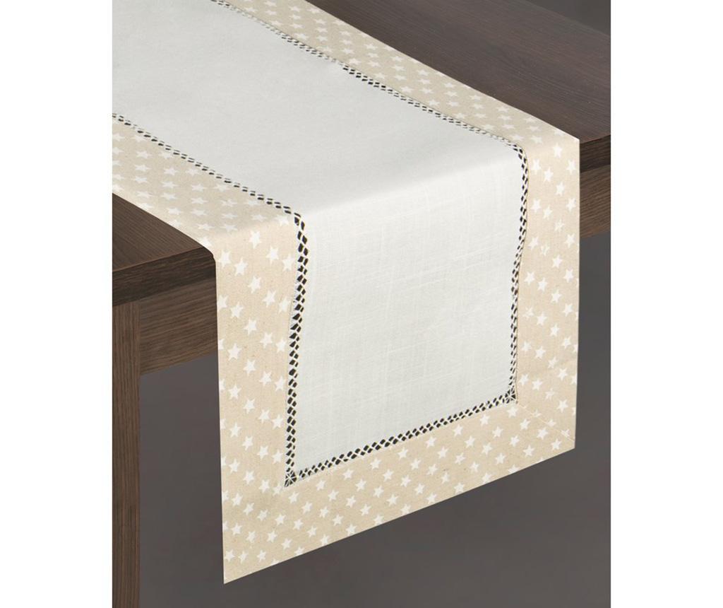 Bieżnik stołowy Dori Cream Beige 40x140 cm