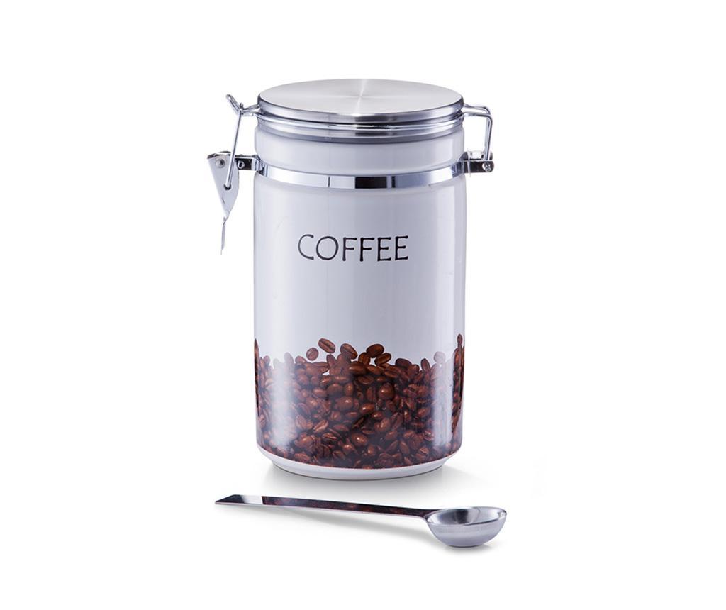 Norene Tároló fedővel kávénak és kiskanál