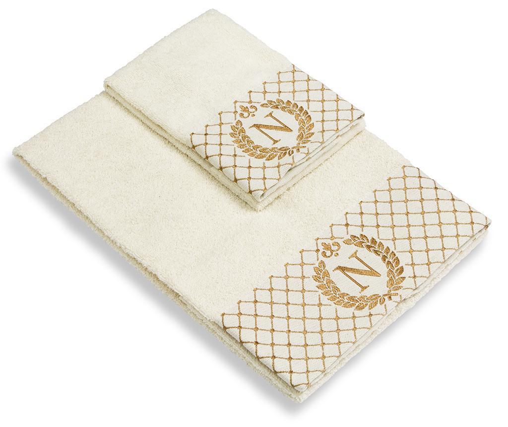 Sada 2 ručníků Monogram N
