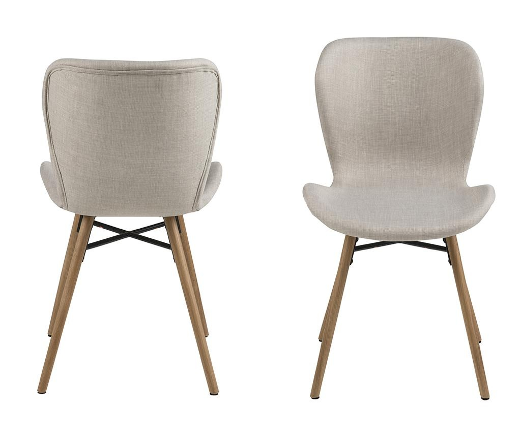Set 2 scaune Batilda Sand