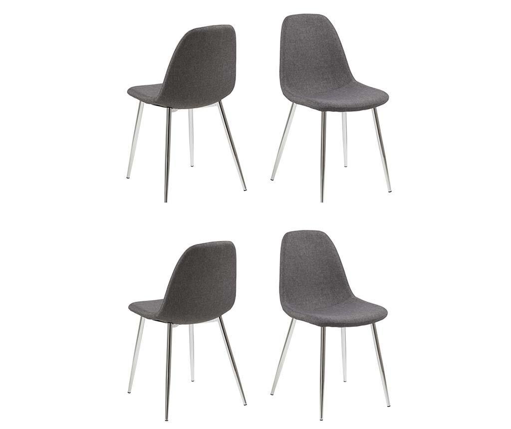 Set 4 stolov Wilma
