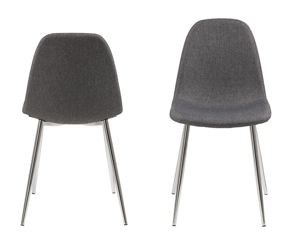 Sada 4 stoličky Wilma