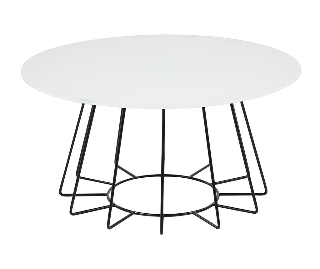 Konfereční stolek Casia Invert White