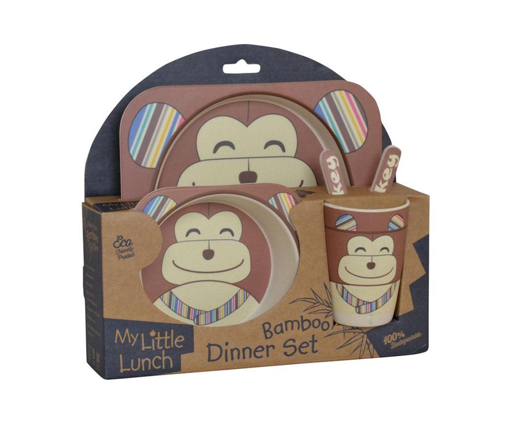 Set de masa pentru copii 5 piese Chimp
