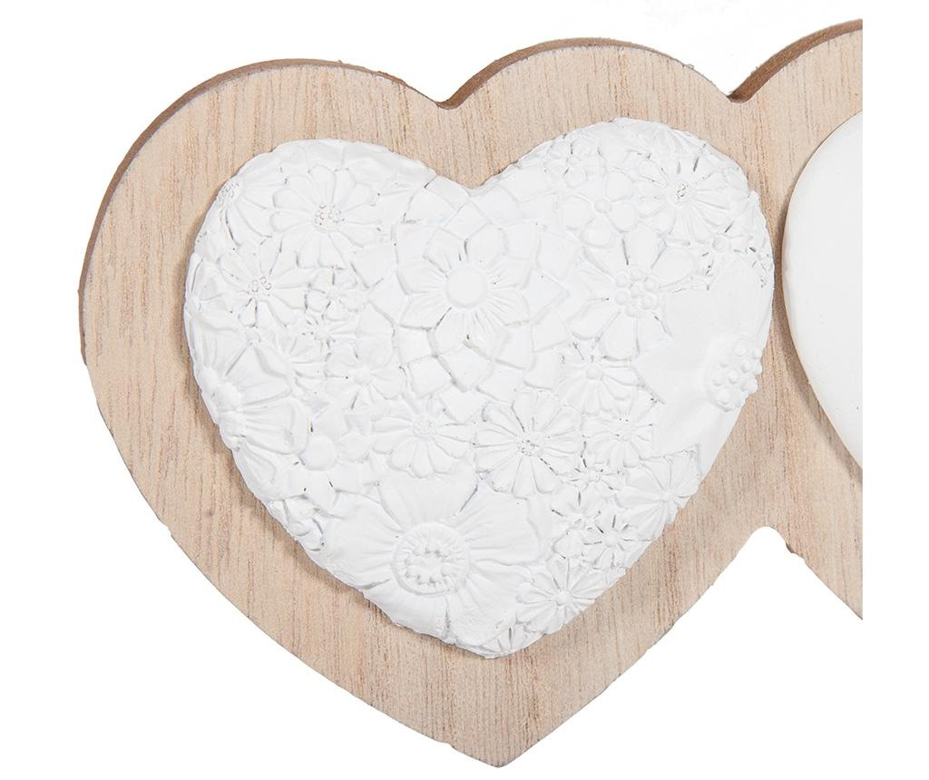 Cuier Heart Trio White