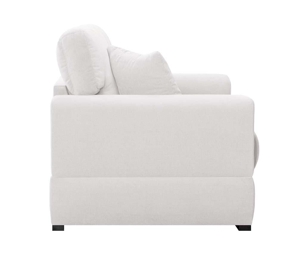 Canapea 2 locuri Passion White