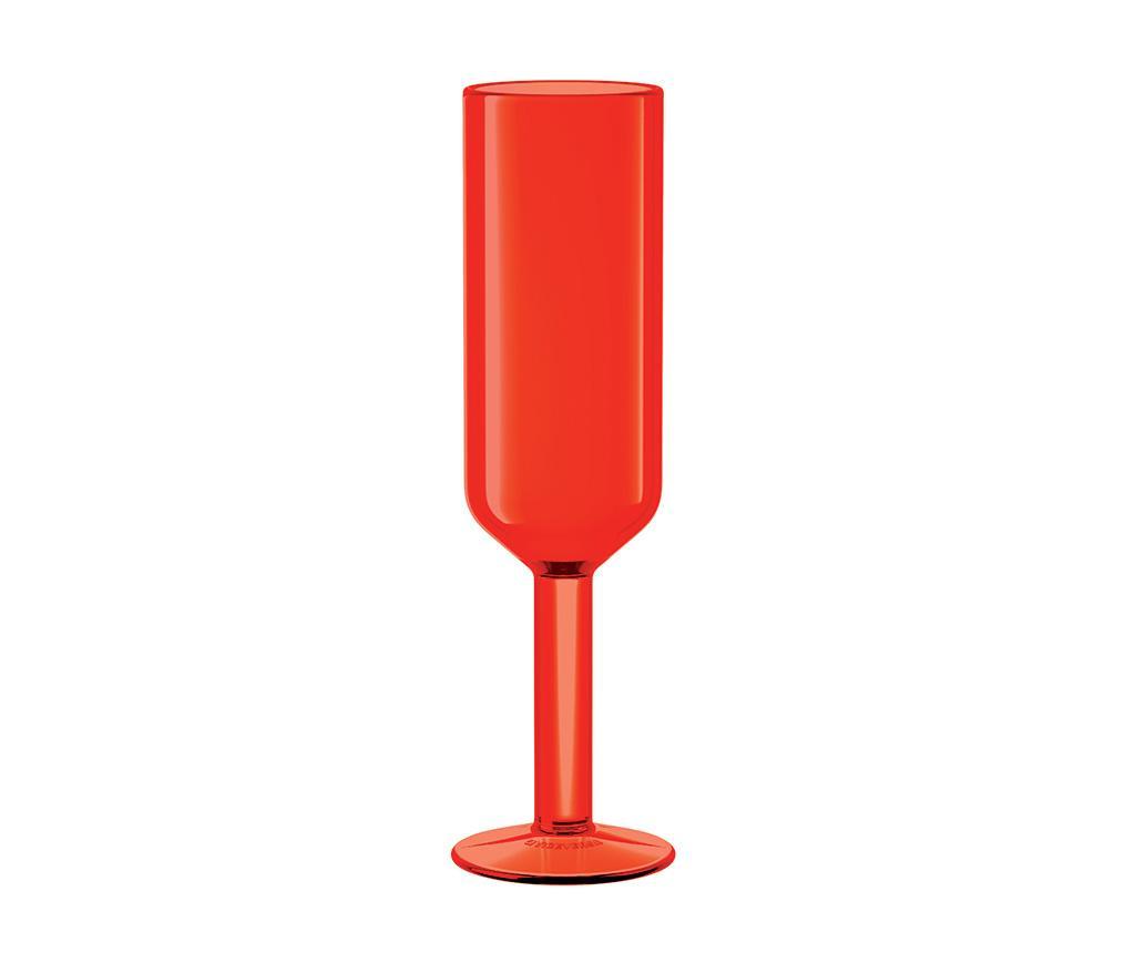 Pahar pentru sampanie The Good Times Red 160 ml