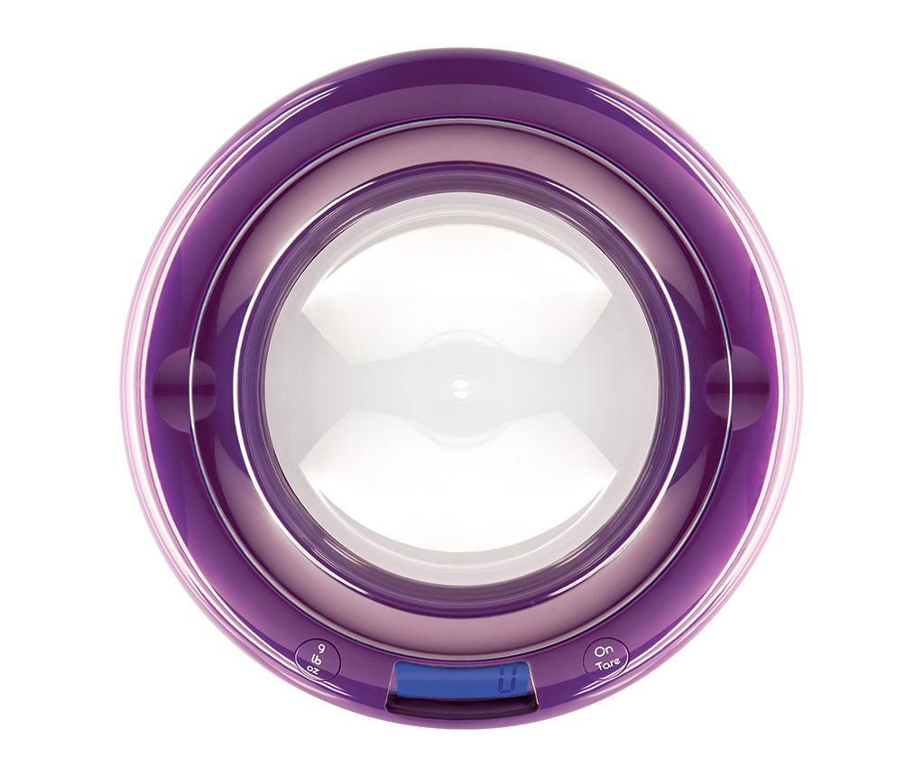 Bubble Violet Digitális konyhai mérleg