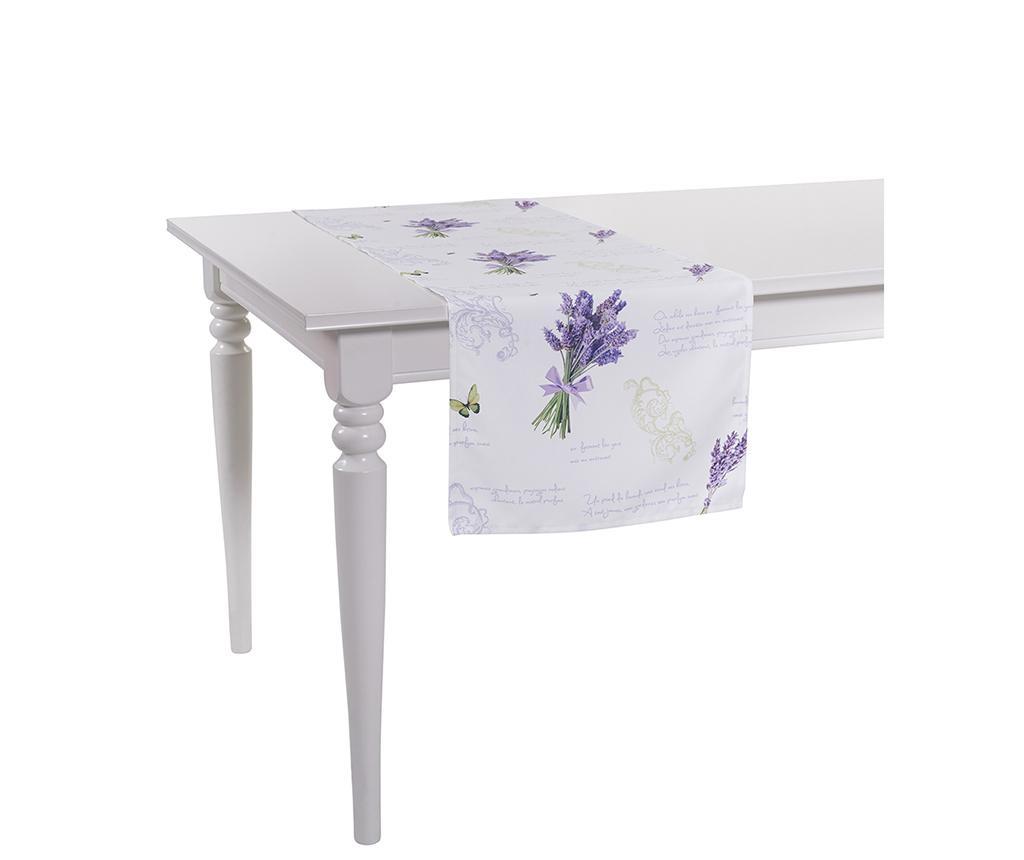 Nadstolnjak Lavender 40x140 cm
