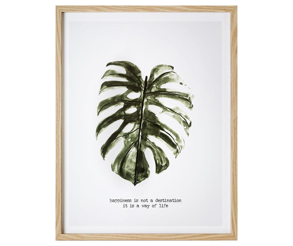 Slika Exotic Leaf 45x57 cm