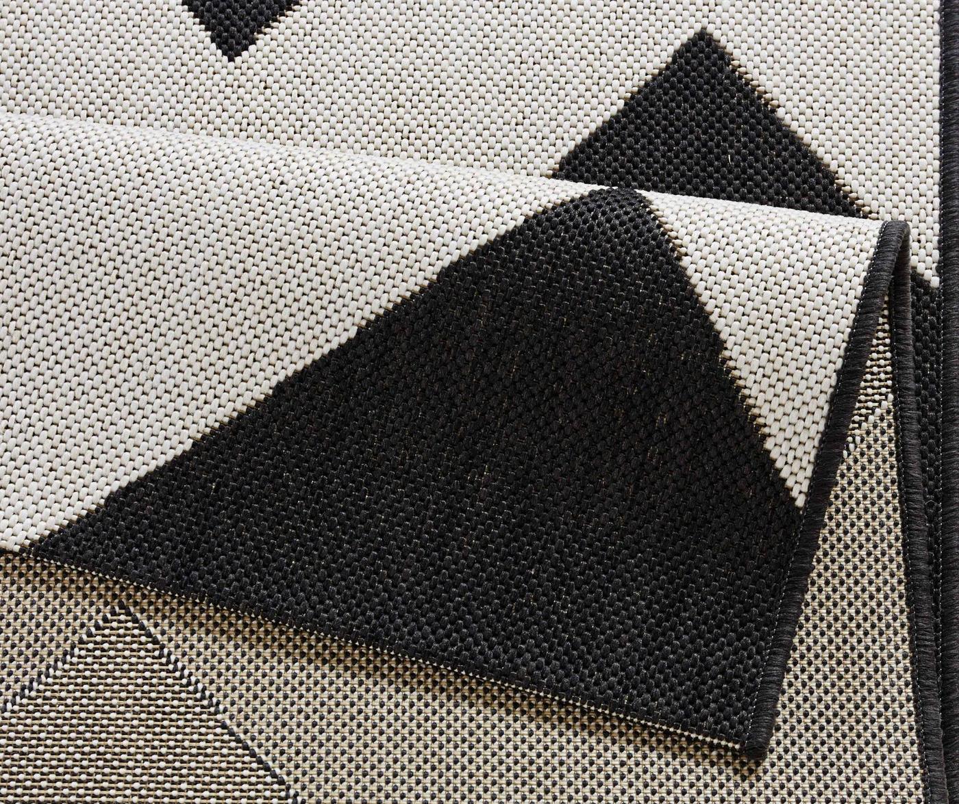 Tepih za vanjski prostor Meadow Unique Black 160x230 cm