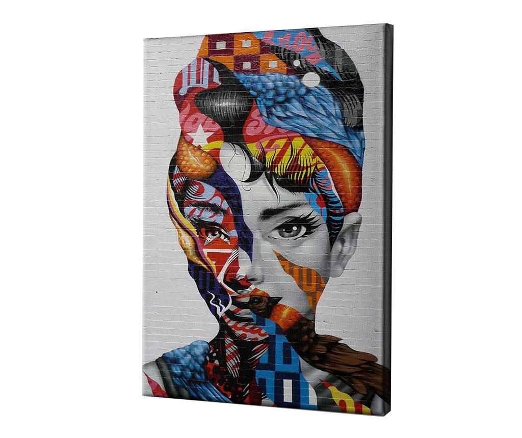 Audrey of Mulberry by Tristan Eaton Kép 60x90 cm