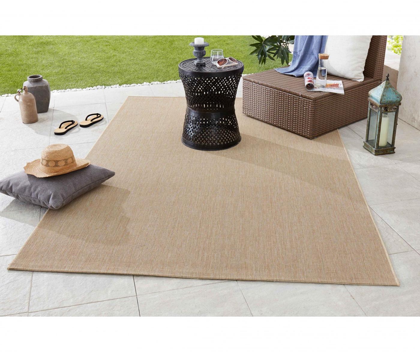 Tepih za vanjski prostor Meadow Match Beige 200x290 cm