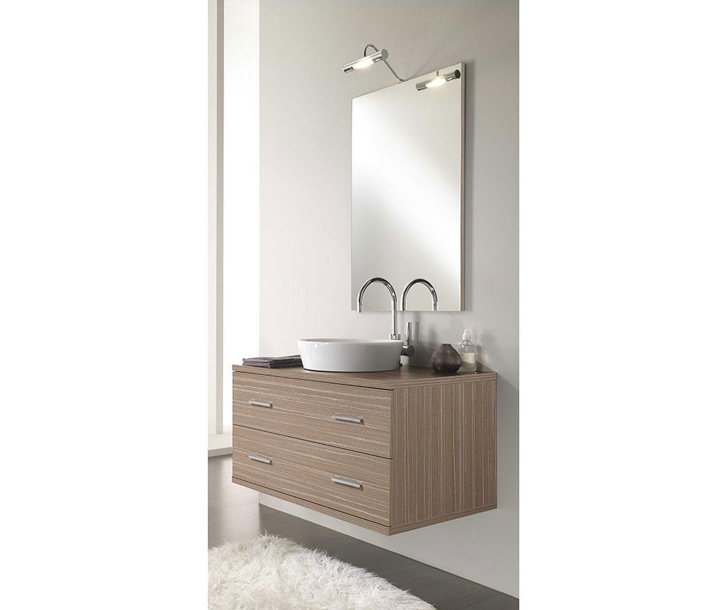 Sada nábytku do kúpeľne 4 ks Giava Cream Simple