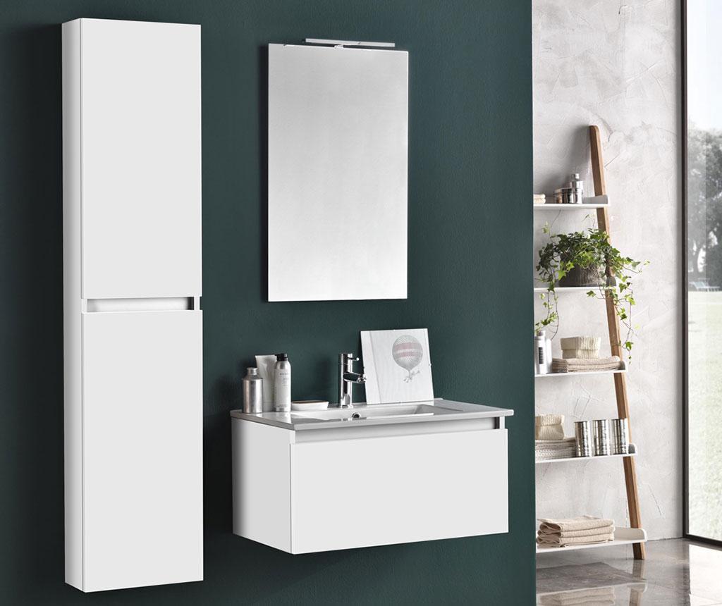 Pięcioczęściowy zestaw mebli łazienkowych Ibiza Matte White