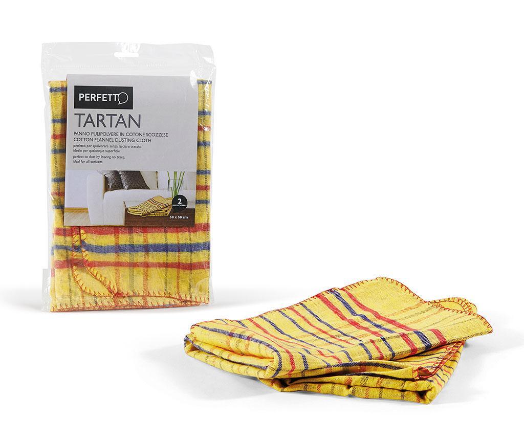 Set 2 lavete pentru praf Yellow