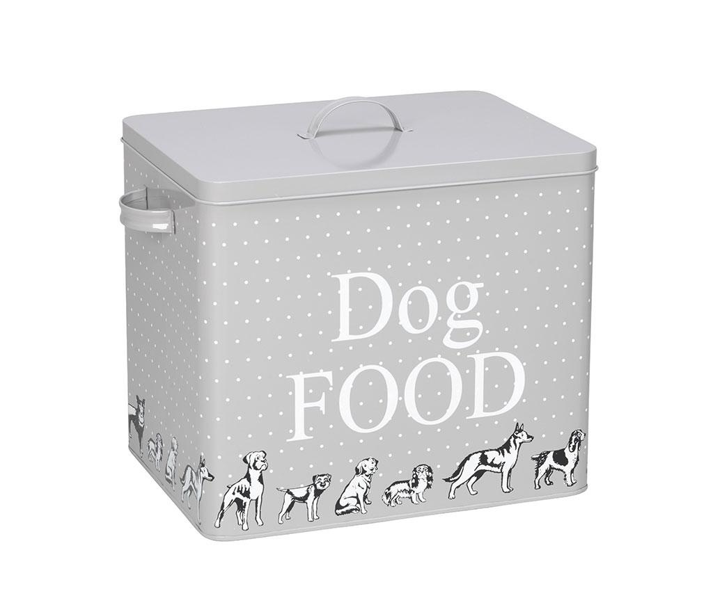 Recipient cu capac pentru hrana caini Dog Food M
